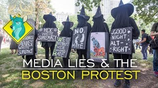 TL;DR - Media Lies & the Boston Protest Rally 2