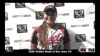 2020 Kaitlen Beals Pitcher and Second Base Softball Skills Video