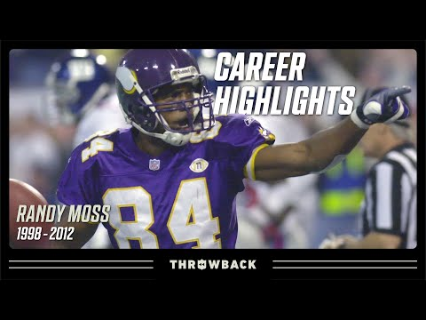 Randy Moss' Ultimate Career Highlight Reel | NFL Legends Highlights