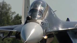 Морская авиация Балтфлота получила два новых истребителя Су-30 СМ