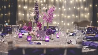 Purple + Silver Wedding, Styled By Enchanted Empire, Event Artisans