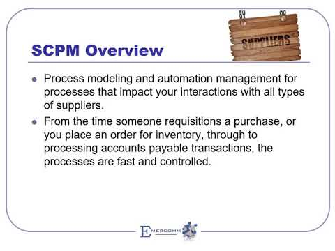 SCPM Overview