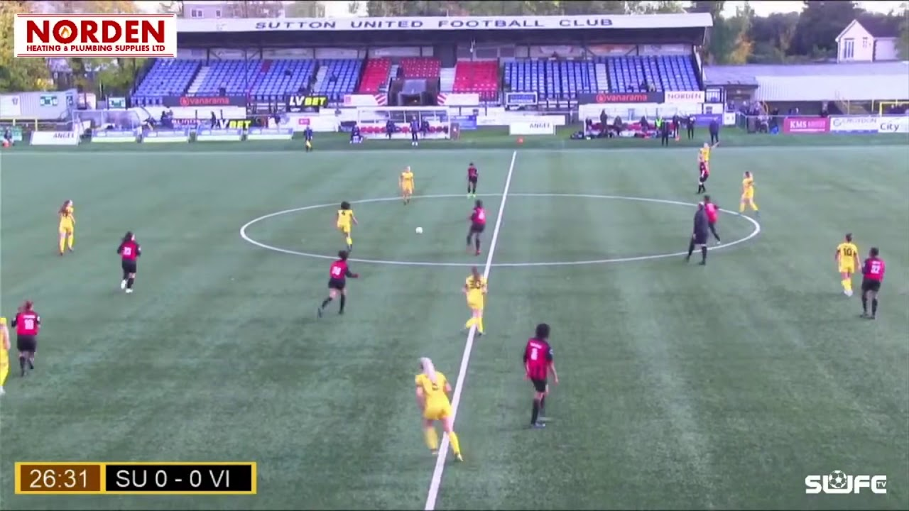 Highlights: Sutton United Women v Victoire 25/10/20