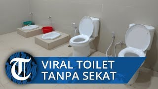 Viral Foto Toilet Tanpa Sekat Diduga di Stasiun Kereta Ciamis, Pipis dan 'Pup' Bareng-bareng