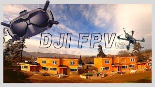 Testing the DJI FPV Goggles (V2)