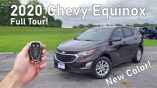 2020 Chevy Equinox LT | Full Tour + Changes for 2020!