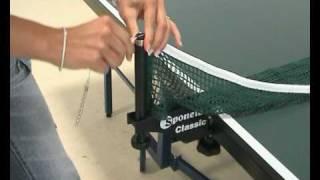 "Sponeta Tischtennisplatte ""Profi"" Master Compact S 7-12 / 7-13 (Feinspanplatte 25 mm/nicht wetterfest)"