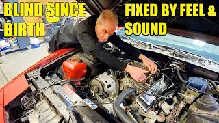 My $1,100 Mystery Auction Firebird Has $3,500 Crate Engine! A BLIND Mechanic Tuned It To Perfection!