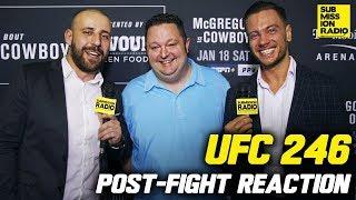 UFC 246: McGregor vs. Cerrone Post-Fight Reaction