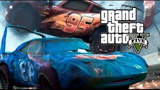 cars 3 lightning mcqueen crash gta 5 - TH-Clip