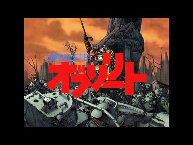 Anime 3D CG OBSOLETE Kolaborasi dengan Armored Trooper Votoms