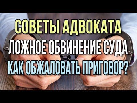 Советы адвоката Обжалование приговора в апелляционный суд второй инстанции Апелляционная жалоба