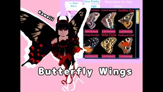 Royale High Butterfly Heels at Next New Now Vblog