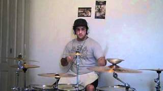 Megawacko2.1- Abandon All Ships (drum cover)