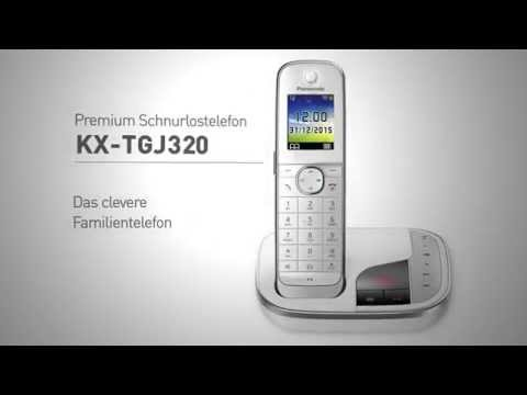 Panasonic Schnurlostelefon KX-TGJ320 - Das clevere Familientelefon