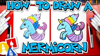 How To Draw A Mermicorn  - #stayhome and draw #withme