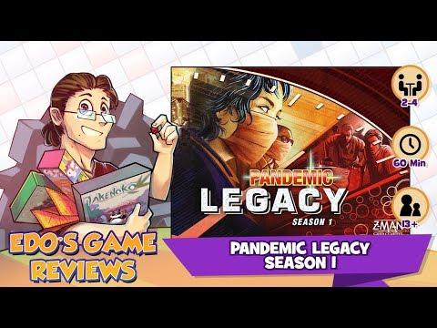 Edo's Pandemic Legacy: Season 1 Review