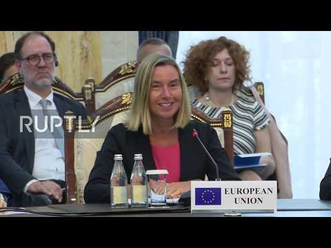 Kyrgyzstan: Mogherini wraps up EU-Central Asia Forum (Ruptly  07.07.2019)
