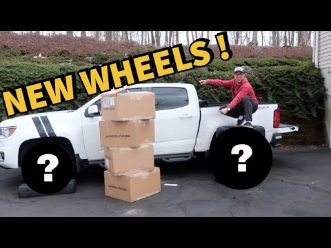 Wheels Reveal!! For my Chevy Colorado!!  🕶