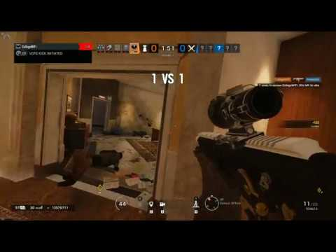 1v5, turned into a 1v1 and lost Kaid Consulate