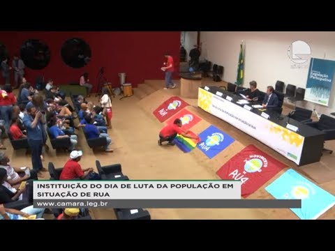 Legislação Participativa - Dia de Luta da População em Situação de Rua - 22/08/19