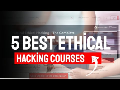 5 Best Ethical Hacking Courses Udemy