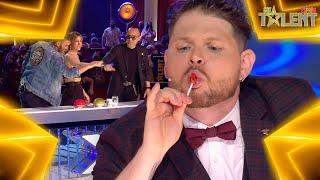 Este MAGO gana el PASE DE ORO gracias a BATMAN | Audiciones 3 | Got Talent España 7 (2021)
