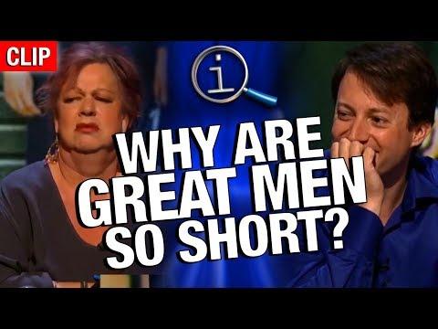 Proč je tolik mocných mužů malých? - QI