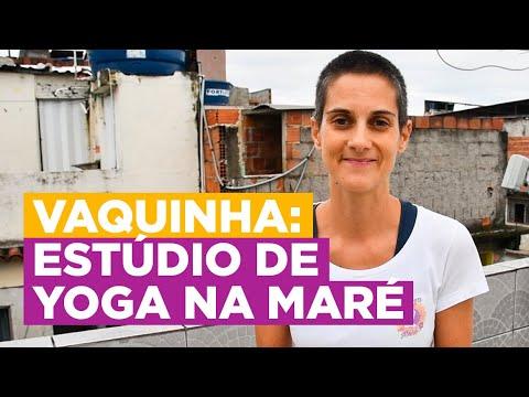 Estúdio de Yoga na Maré