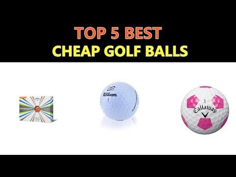 Best Cheap Golf Balls 2018