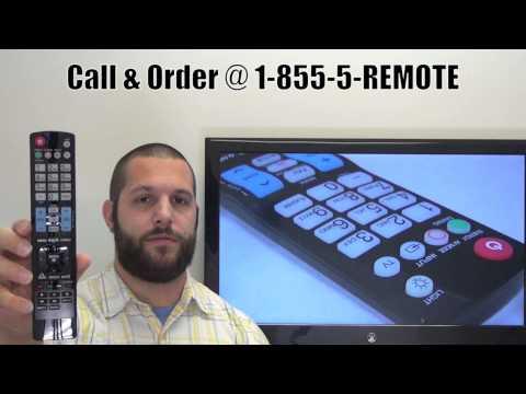 LG AKB72914018 TV Remote Control