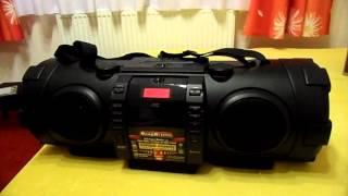 JVC RV-NB100 boomblaster boombox recenzja part 2