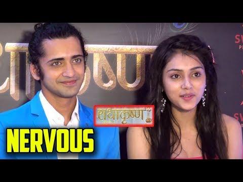 Sumedh Mudgalkar And Mallika Singh Aka Radha & Krishna Excited & Nervous For The Show