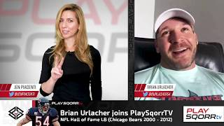 Jen Chats with Hall of Famer, Brian Urlacher