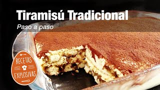 Tiramisu Tradicional - Paso a paso - Fácil Recetas Explosivas