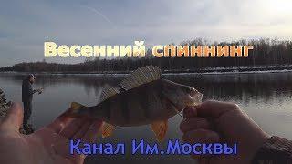 Рыбалка спиннингом на канал им москвы