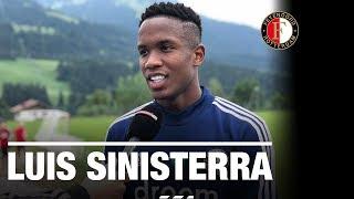 'Ik hoop op meer minuten bij Feyenoord' | Interview Luis Sinisterra