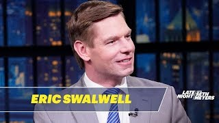Rep. Eric Swalwell Defends Himself Against #FartGate Allegations