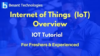 Internet of Things  (IoT) Overview   IoT Tutorial For Beginners