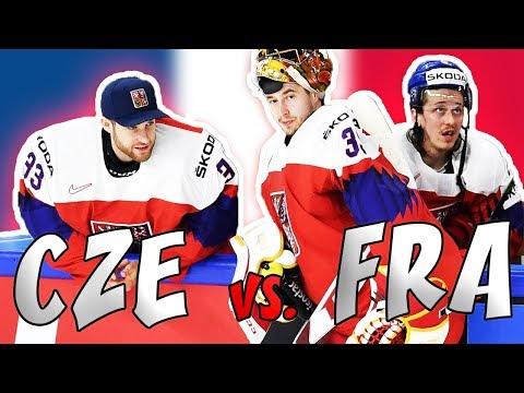 ČESKO - FRANCIE | MS v hokeji 2018