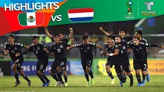 México vs. Países Bajos: 4-3 Goals & Highlights   Copa Mundial Sub-17   Telemundo Deportes
