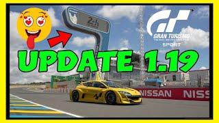 Gran Turismo Sport Update 1.19 | 9 NEW CARS & A LEGENDARY CIRCUIT!