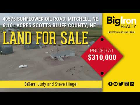 40575 Sunflower Oil Road, Mitchell, NE