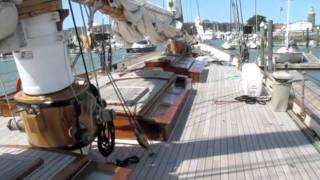 Golden Gate Yacht Club with Schooner America