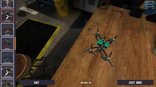 Dallas Drone Racing Vdrone Setup