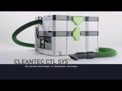 Festool CLEANTEC CTL SYS mobiele stofzuiger