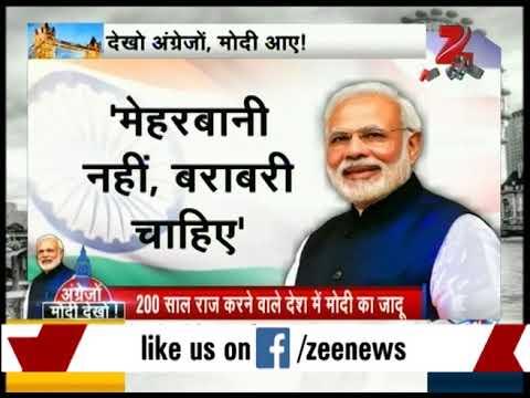 PM Narendra Modi's grand welcome at UK
