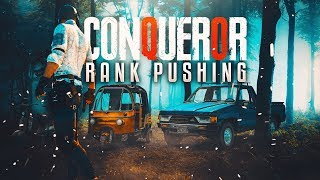 PUBG MOBILE RANK PUSHING TO CONQUEROR M416 OP SPRAY  #yeyeyeyeye