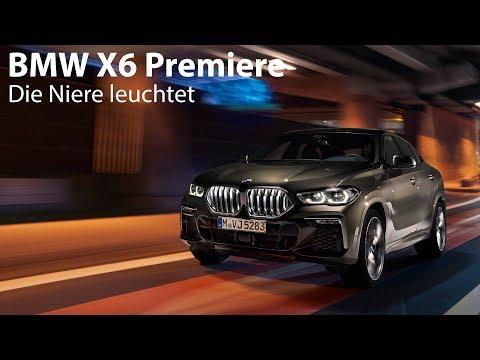 Weltpremiere BMW X6 G06: Design-Statement mit leuchtender Niere [4K] - Autophorie