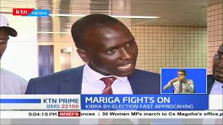 Mariga's lawyers file formal petition after IEBC blocked his candidature